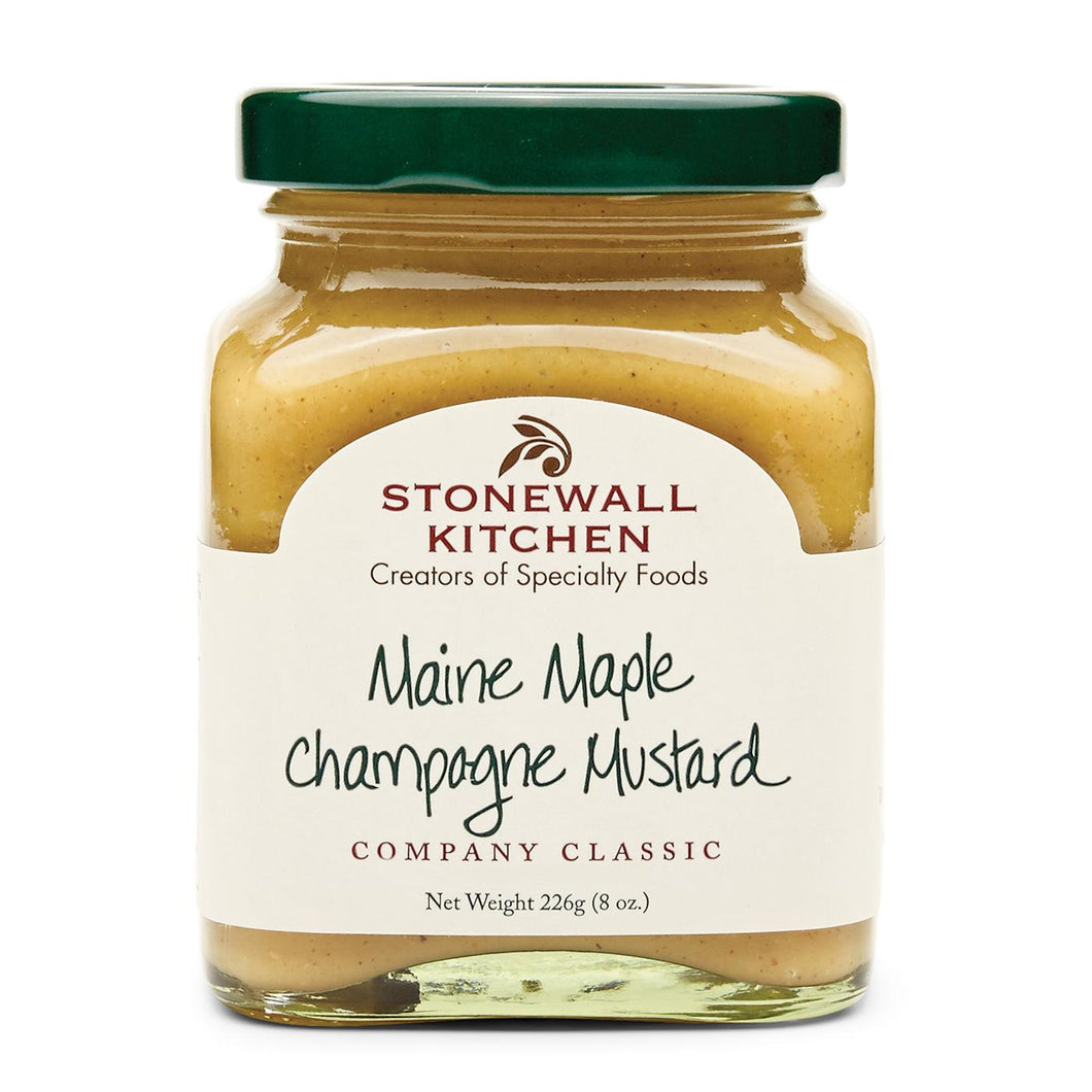 Maine Maple Champagne Mustard