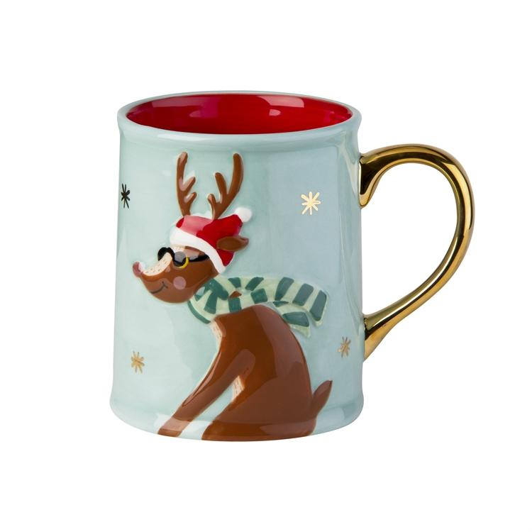 Reindeer Boy Coffee Mug