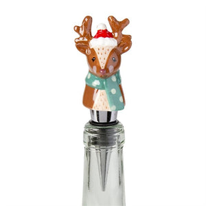 Mr. Reindeer Bottle Stopper