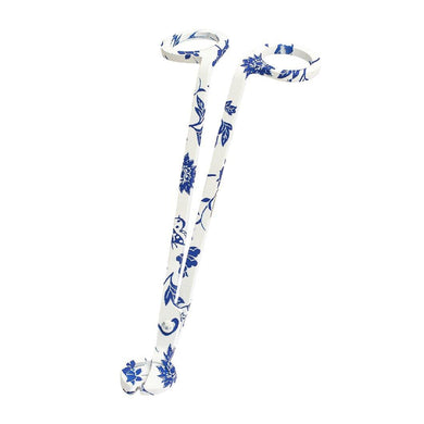 Blue & White Floral Wick Trimmer