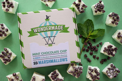 Wondermade Marshmallows Mint Chocolate Chip