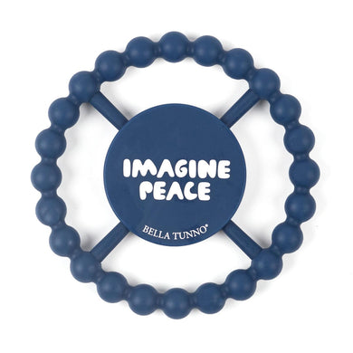 Imagine Peace Happy Teether