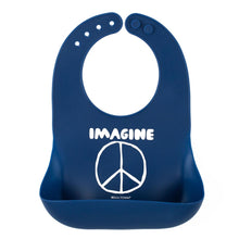 Load image into Gallery viewer, Imagine Peace Wonder Bib