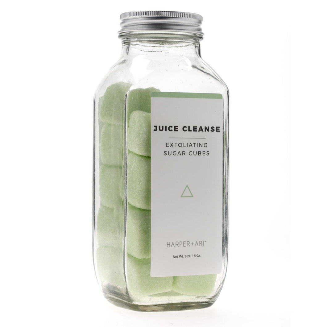 Juice Cleanse Exfoliating Sugar Cubes