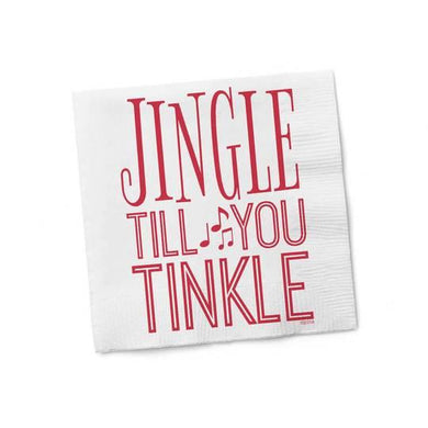 Jungle Till You Tinkle Cocktail Napkins