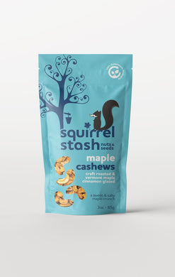 Maple Cashews