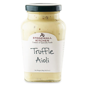 jar of Stonewall Kitchen Truffle Aioli 10.25 oz 290g made in Maine