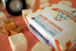 Wondermade Marshmallows Salted Caramel