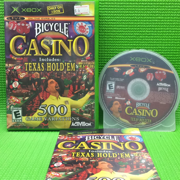 Bicycle Casino - Microsoft Xbox | Disc Plus