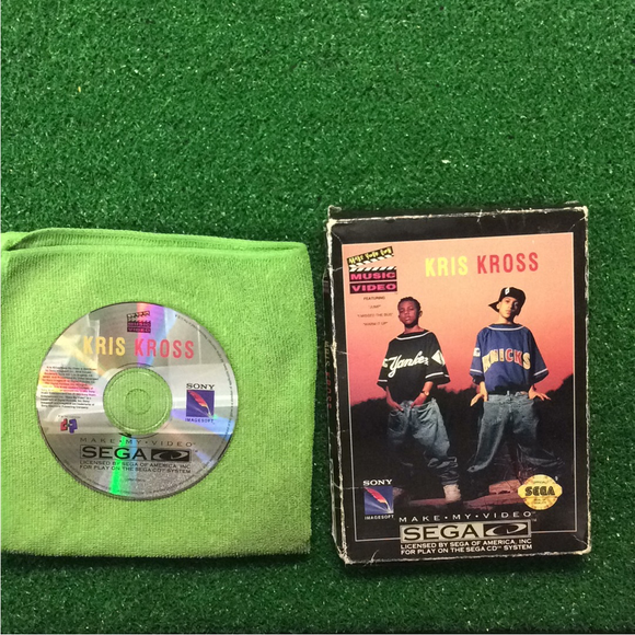 Kris Kross: Make My Video - Sega CD | Disc Plus
