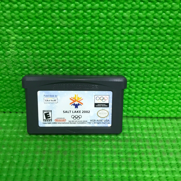 Salt Lake 2002 - Nintendo GBA Gameboy Advance | Cartridge Only