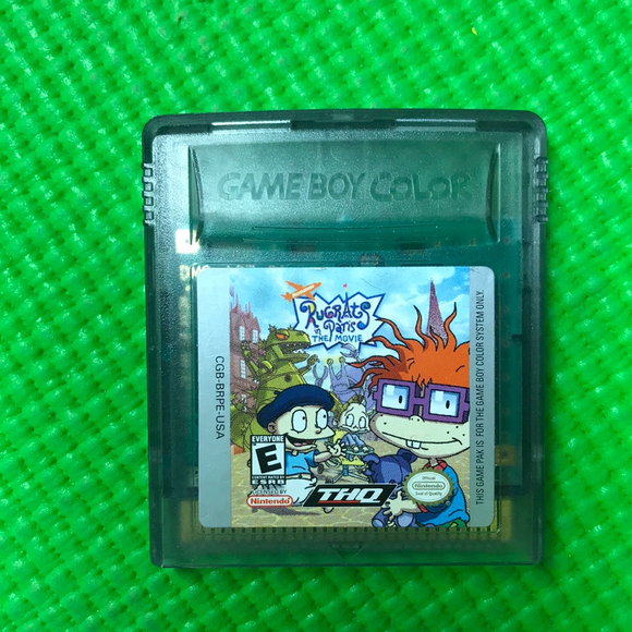 Rugrats in Paris The Movie - Nintendo Gameboy Color | Cartridge Only