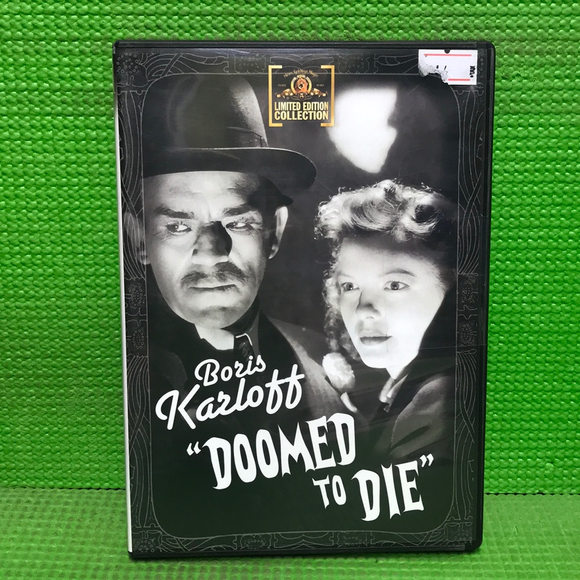 Doomed To Die - DVD Mystery/Suspense 1940 NR | Disc Plus