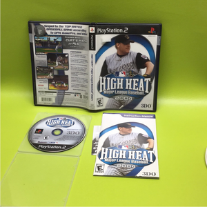 High Heat Baseball 2004 - Sony PS2 Playstation 2 | Disc Plus