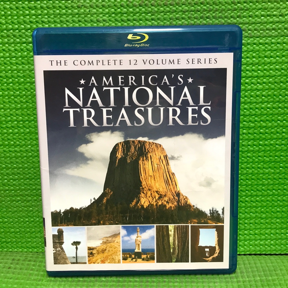 America's National Treasures Collection - Blu-ray Special Interest VAR NR | Disc Plus