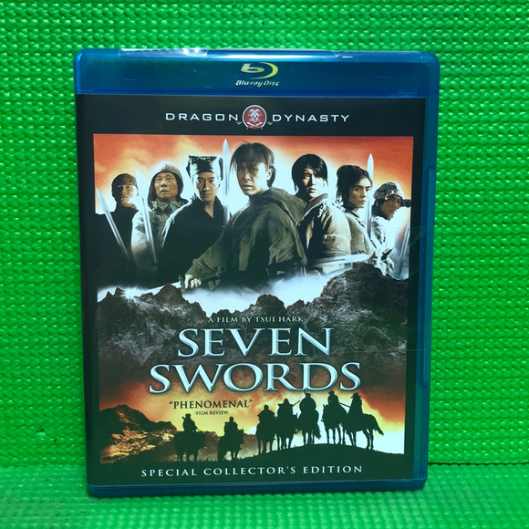 Seven Swords - Blu-ray Foreign 2005 NR | Disc Plus