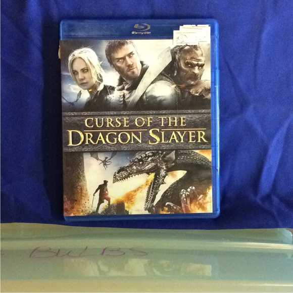 Curse Of The Dragon Slayer - Blu-ray Fantasy 2013 NR | Disc Plus