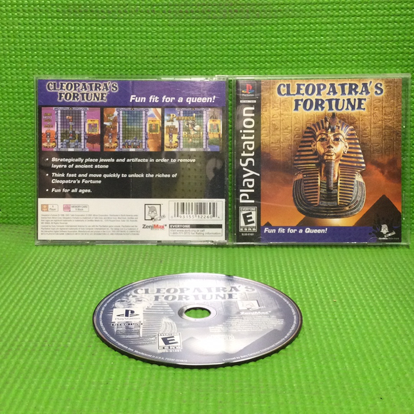 Cleopatra's Fortune - Sony PS1 Playstation 1 | Disc Plus