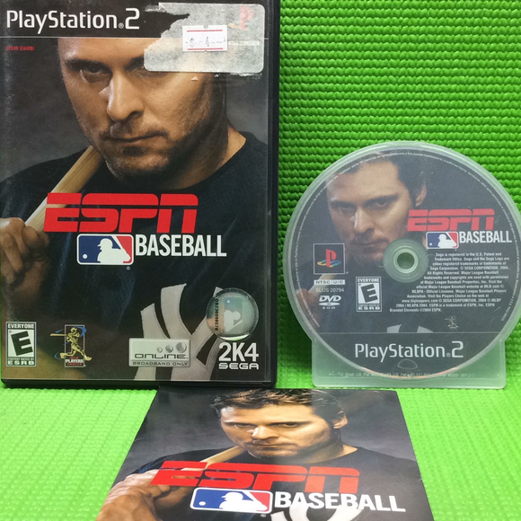 ESPN Baseball 2K4 - Sony PS2 Playstation 2 | Disc Plus
