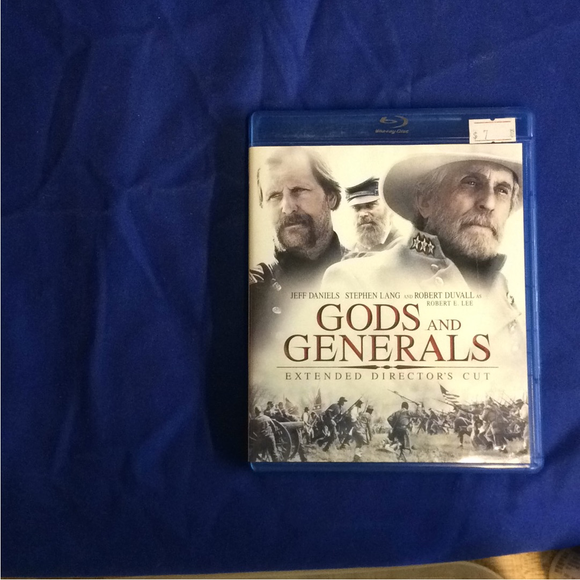 Gods And Generals - Blu-ray War 2003 PG-13 | Disc Plus