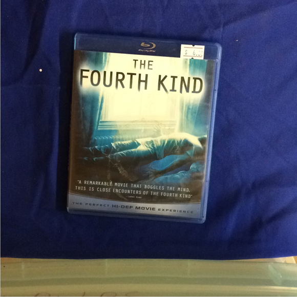 Fourth Kind - Blu-ray Suspense/Thriller 2009 PG-13 | Disc Plus