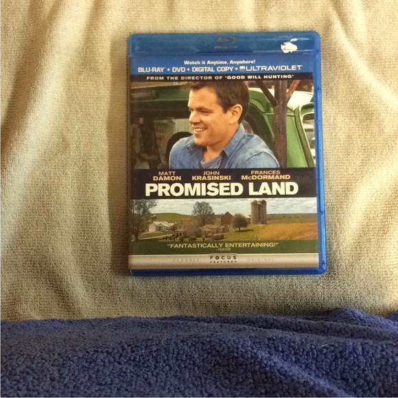 Promised Land - Blu-ray Drama 2012 R | Disc Plus