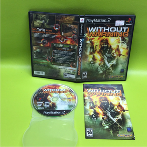 Without Warning - Sony PS2 Playstation 2 | Disc Plus