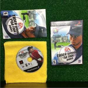 Tiger Woods 2003 - Sony PS2 Playstation 2 | Disc Plus