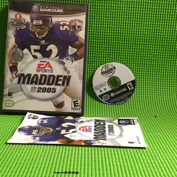 Madden 2005 - Nintendo Gamecube | Disc Plus