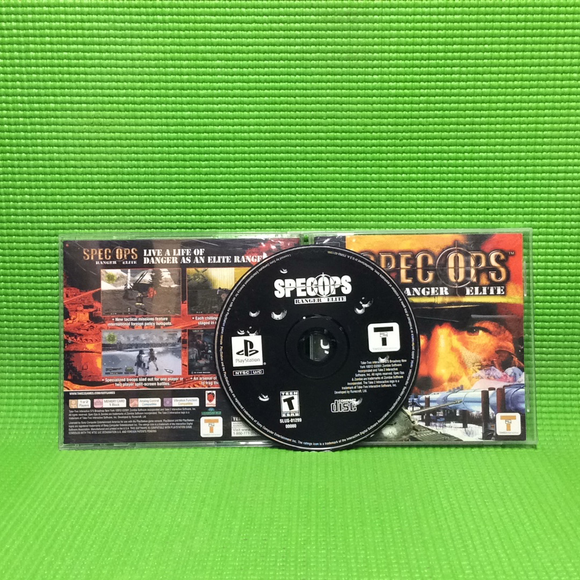 Spec Ops: Ranger Elite - Sony PS1 Playstation 1 | Disc Plus