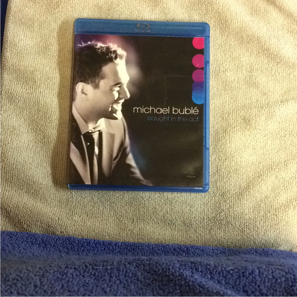 Michael Buble: Caught In The Act - Blu-ray Music UNK NR | Disc Plus