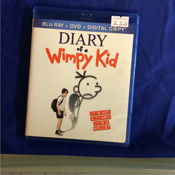 Diary Of A Wimpy Kid - Blu-ray Family 2010 PG | Disc Plus