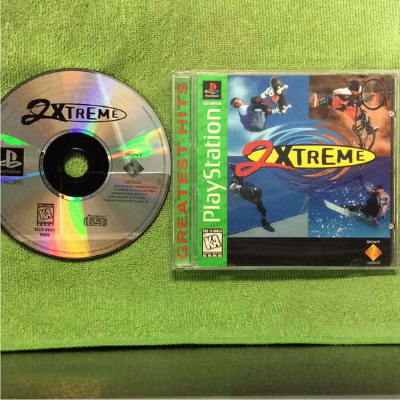 2Xtreme - Sony PS1 Playstation 1 | Disc Plus
