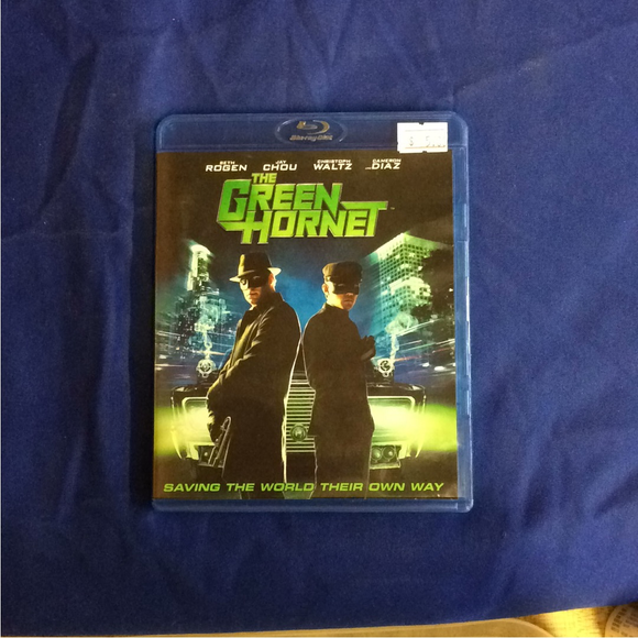 Green Hornet - Blu-ray Action/Adventure 2011 PG-13 | Disc Plus