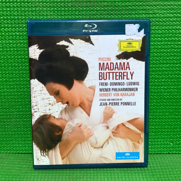 Puccini: Madama Butterfly: Mirella Freni / Placido Domingo / Christa Ludwig - Blu-ray Opera UNK NR | Disc Plus