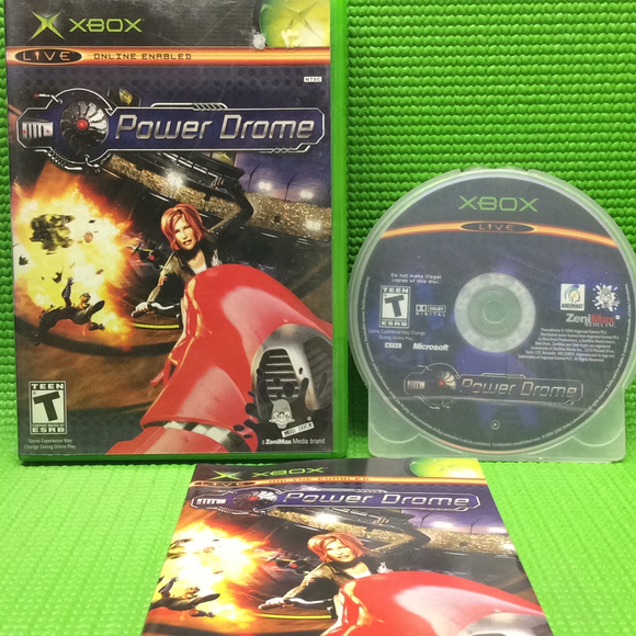 Power Drome - Microsoft Xbox | Disc Plus