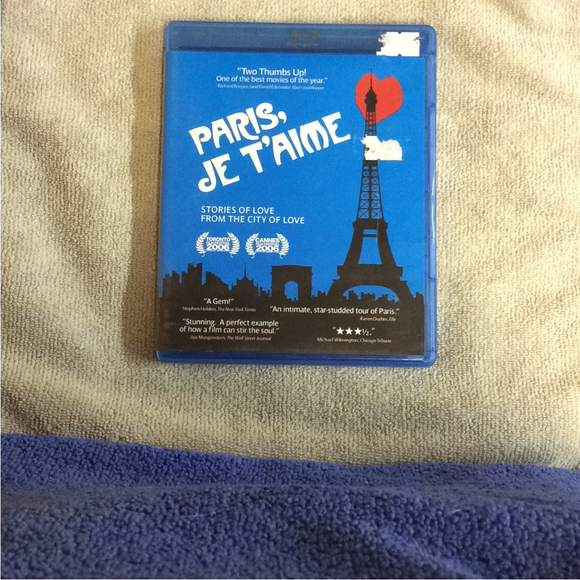 Paris, Je T'Aime - Blu-ray Foreign 2006 R | Disc Plus