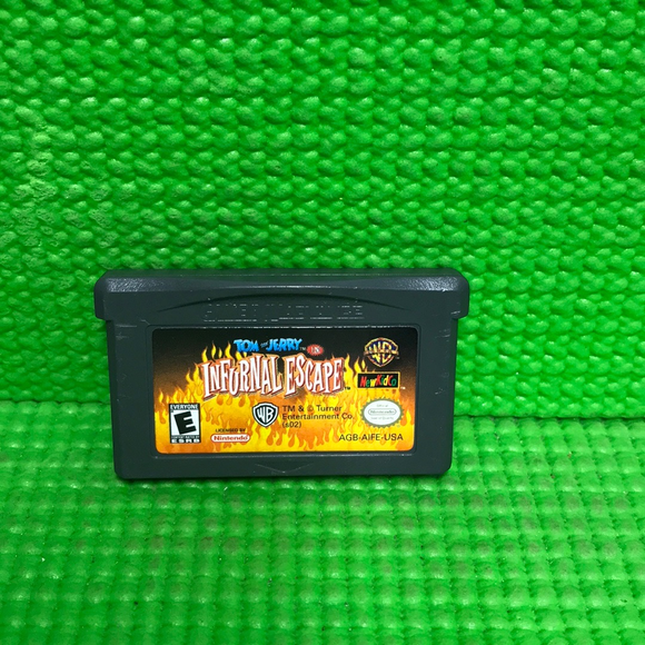 Tom and Jerry in Infurnal Escape - Nintendo GBA Gameboy Advance | Cartridge Only