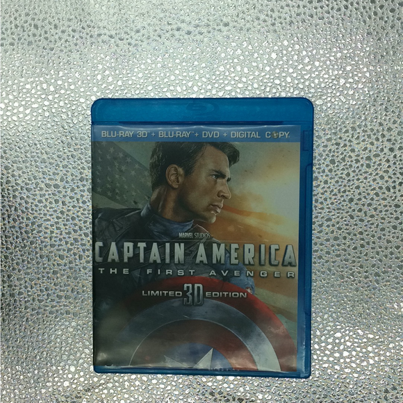 Captain America: The First Avenger - Blu-ray/3D/Action/Adventure 2011 PG-13 | Disc Plus