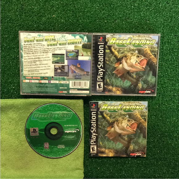 Bass Landing - Sony PS1 Playstation 1 | Disc Plus