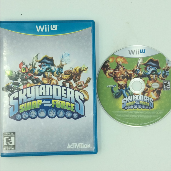 Skylanders: Swap Force (Game Only) - Nintendo Wii U | Disc Plus