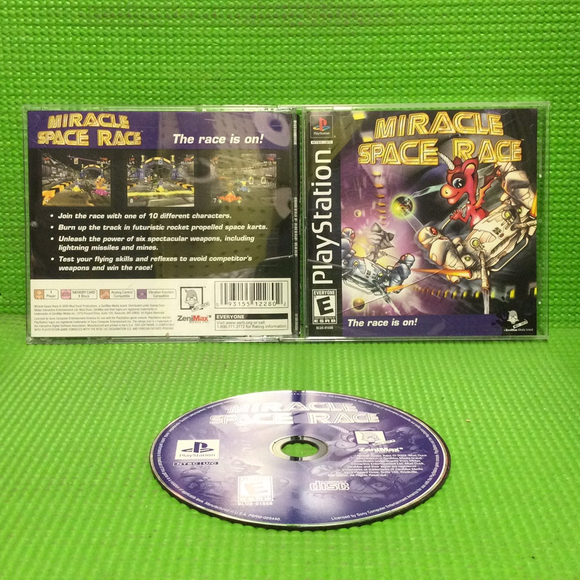 Miracle Space Race - Sony PS1 Playstation 1 | Disc Plus