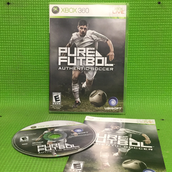 Pure Futbol: Authentic Soccer - Microsoft Xbox 360 | Disc Plus