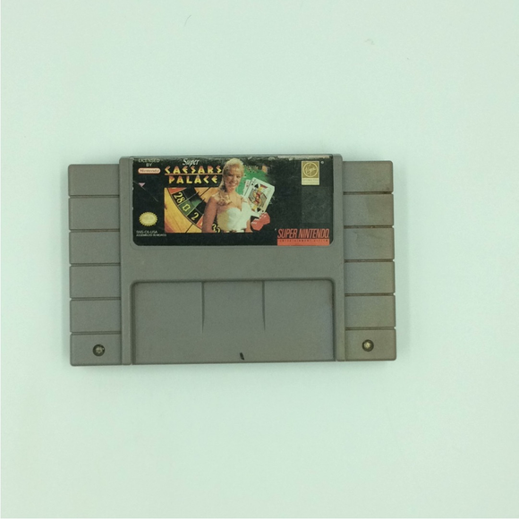 Super Caesar's Palace - Nintendo SNES Super | Cartridge Only