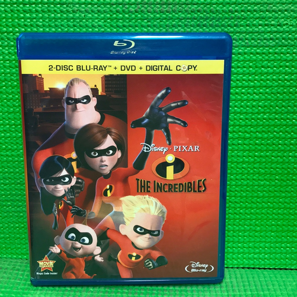 Incredibles - Blu-ray Animation 2004 G | Disc Plus