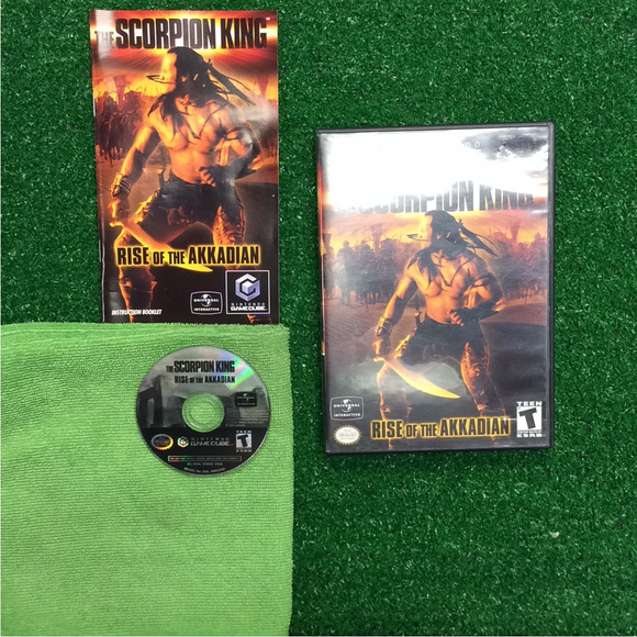 Scorpion King, The: Rise of the Akkadian - Nintendo Gamecube | Disc Plus