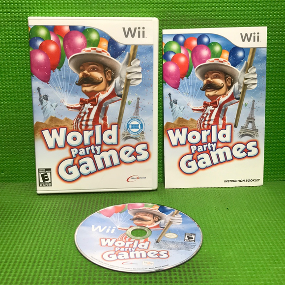 World Party Games - Nintendo Wii | Disc Plus
