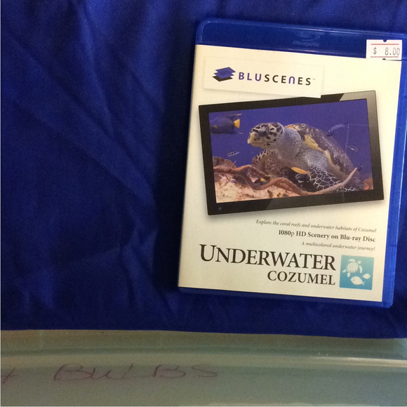 BluScenes: Underwater Cozumel - Blu-ray Special Interest 2012 NR | Disc Plus