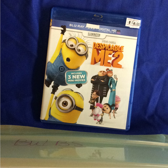 Despicable Me 2 - Blu-ray Animation 2013 PG | Disc Plus