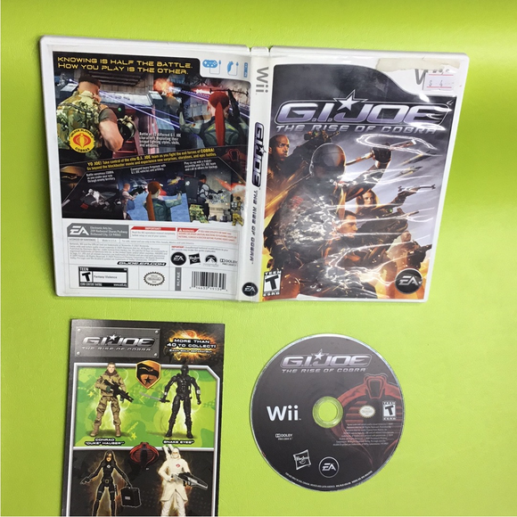 GI Joe: The Rise of Cobra - Nintendo Wii | Disc Plus